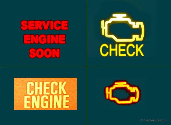 2006 Ford Escape Warning Lights