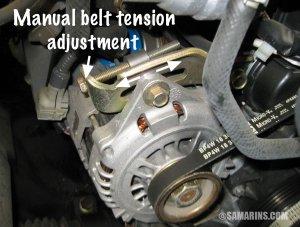 Serpentine belt, tensioner: problems, signs of wear, when