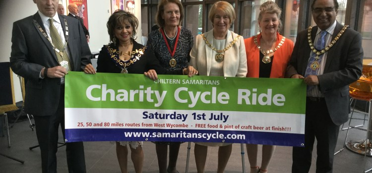 Councillors across Buckinghamshire show support for the Ride
