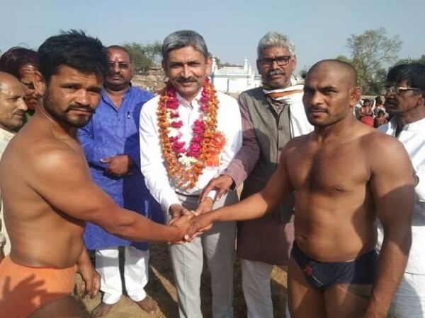 Dangal fair in Banda, Dr. Shekhasadi said - Sports increases brotherhood