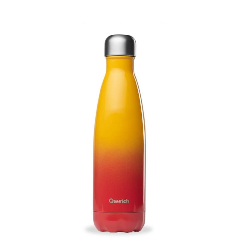 bouteille isotherme inox 500ml sunset qwetch