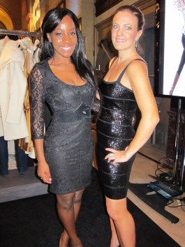 Daniella Peters and Samata at Step Up Women's Network event