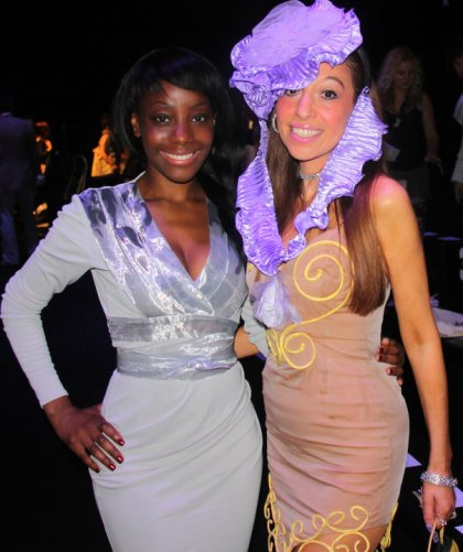 Samata and Tracey Rose Hat designer