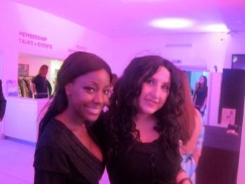Samata Angel at Christian Louboutin exhibition at Design Museum