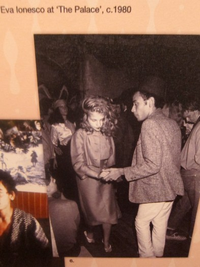 A young Christian Louboutin dances with Eva Ionesco in photograph