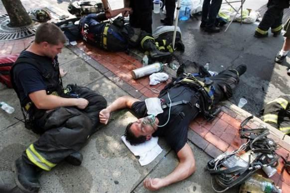 Resultado de imagen de Firefighter heat stroke