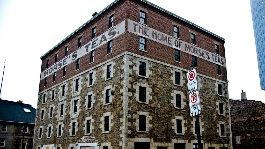 "Click For: ""Morse's Teas Building"""