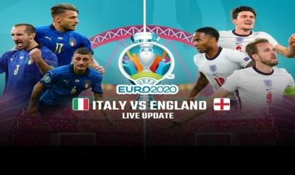 युरोकप २०२० को उपाधिका लागि इङ्ग्ल्यान्ड र इटली खेल्दै