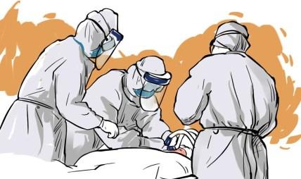 दोलखाको चरिकोट अस्पतालमा कोरोना संक्रमित बृद्धाको मृत्यु