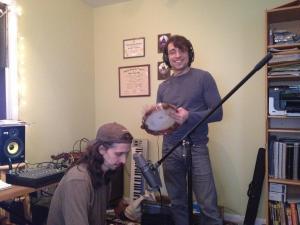Pandeiro recording