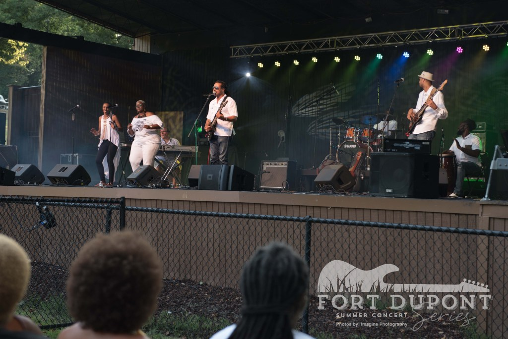 NPS Summer Series at Fort Dupont Theatre / photo by Imagine Photography