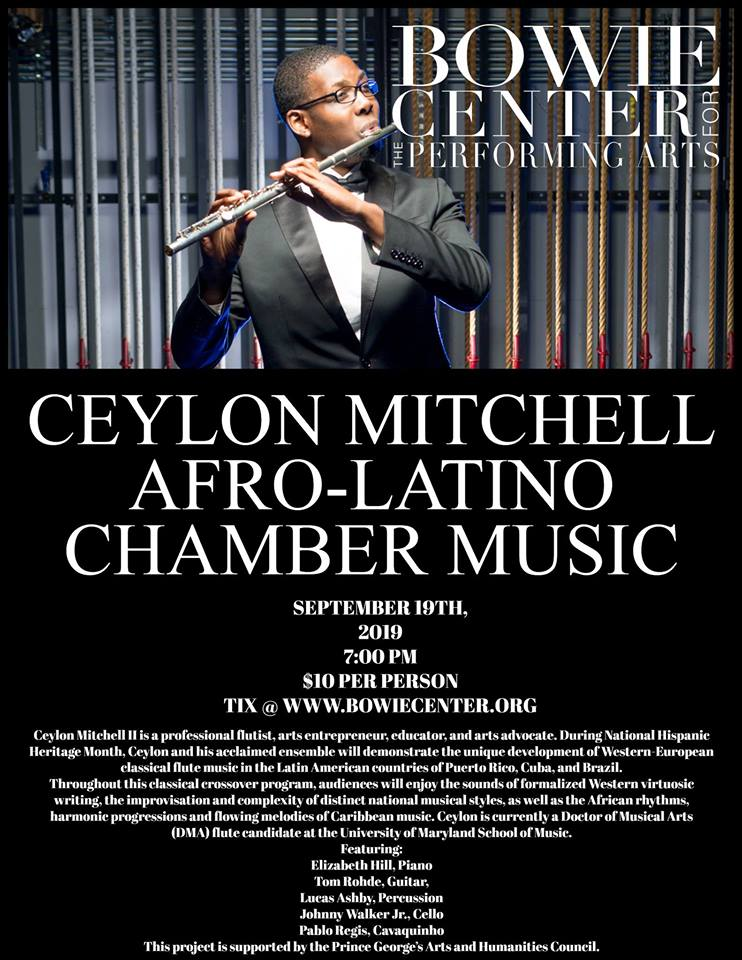 Ceylon Mitchell - Bowie Center for Performing Arts
