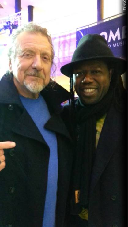 Samba with Robert Plant (Womex)