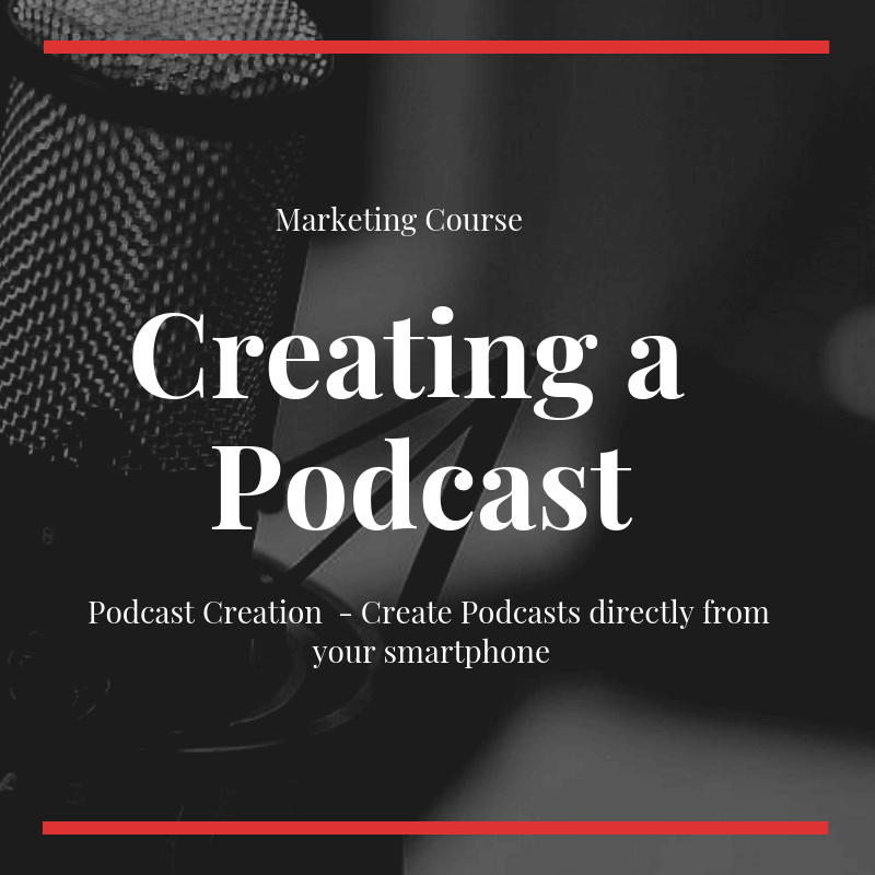 Podcast creation course