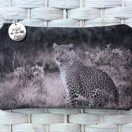 Leopard Kidogo (little) Purse