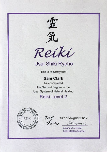 Reiki Channeling/Clairvoyant Reading