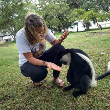 Me and Colobus
