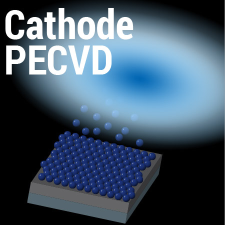 Cathode PECVD