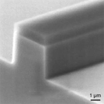 Ridge Form Formation of GaN for blue laser diode