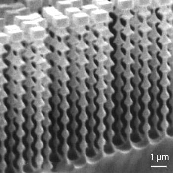Silicon Nanoscale Pillar Fabrication
