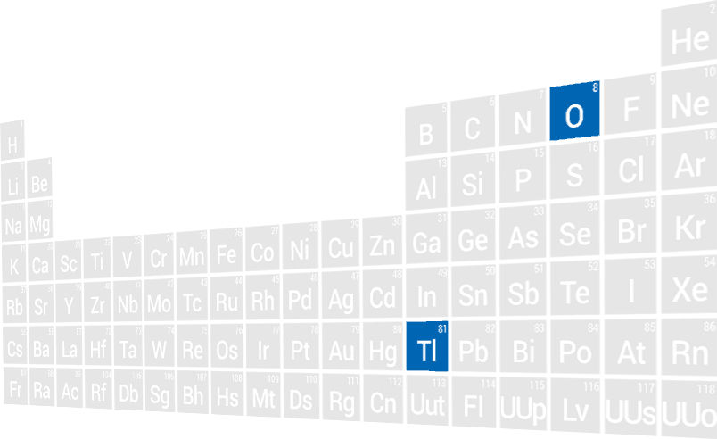 TiO2 in Periodic Table