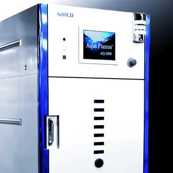 plasma cleaner for aqua plasma