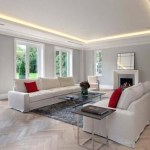 Lounge lighting by Sam Coles Lighting 03