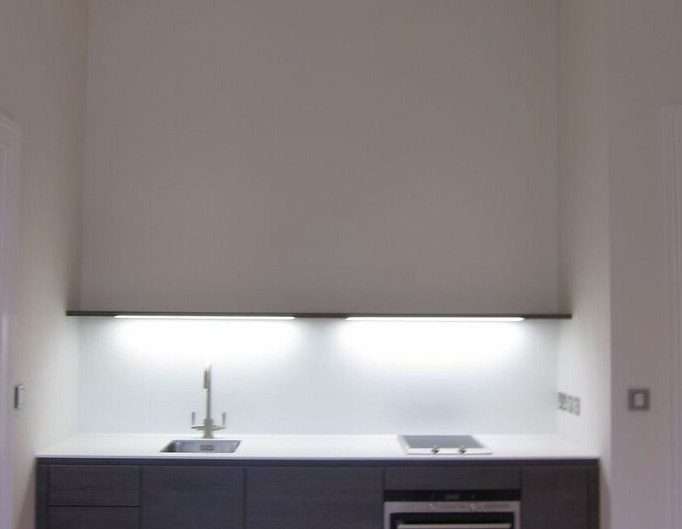 Kitchen cooker lighting by Sam Coles Lighting