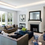 Lounge ceiling lighting by Sam Coles Lighting