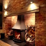 Fireplace lighting by Sam Coles Lighting 01