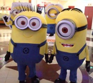 Minions Stuart and Jorge of Despicable Me