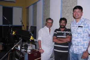 Sam D Raj with Director Igore and Music Director Deva