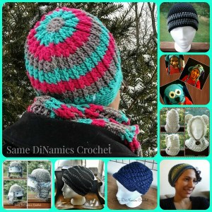 Same DiNamics Crochet Hats
