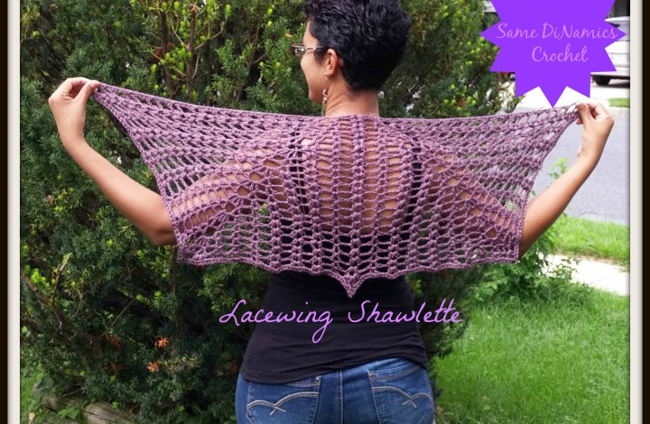 Lacewing Shawlette – New Pattern Release