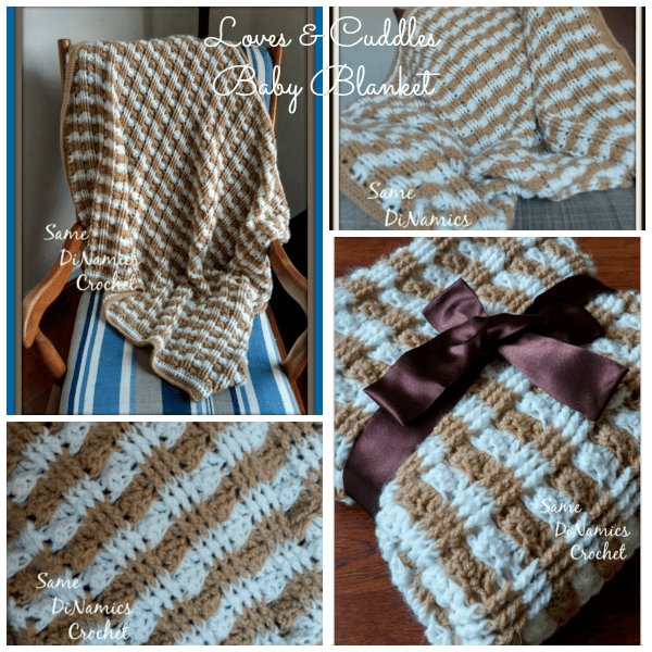 Loves & Cuddles Baby Blanket - Contributed Pattern