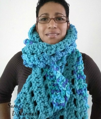 Super Chunky Super Warm Scarf Free Pattern