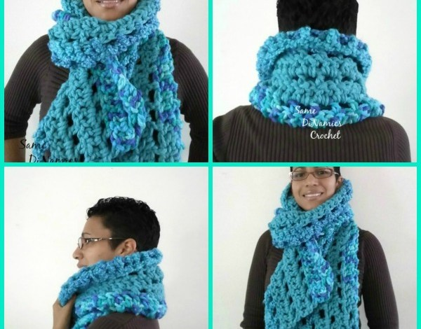Super Chunky Super Warm Scarf Pattern