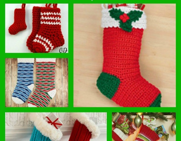 Crochet Christmas Stocking Pattern Collection