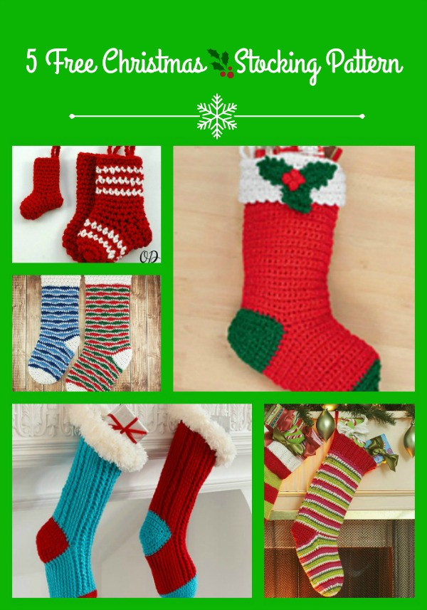 Christmas Stockings Pattern Collection