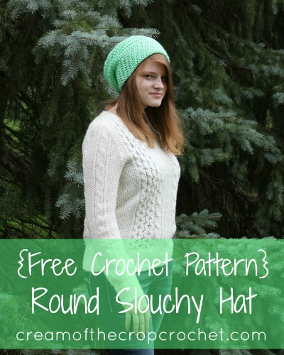 Round Slouchy Hats