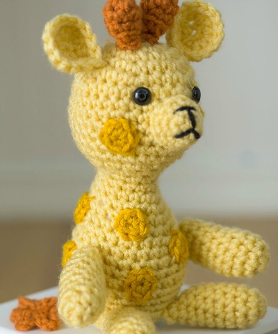 Little Crochet Giraffe