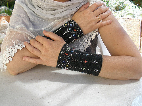 Clerestory Beaded Cuffs