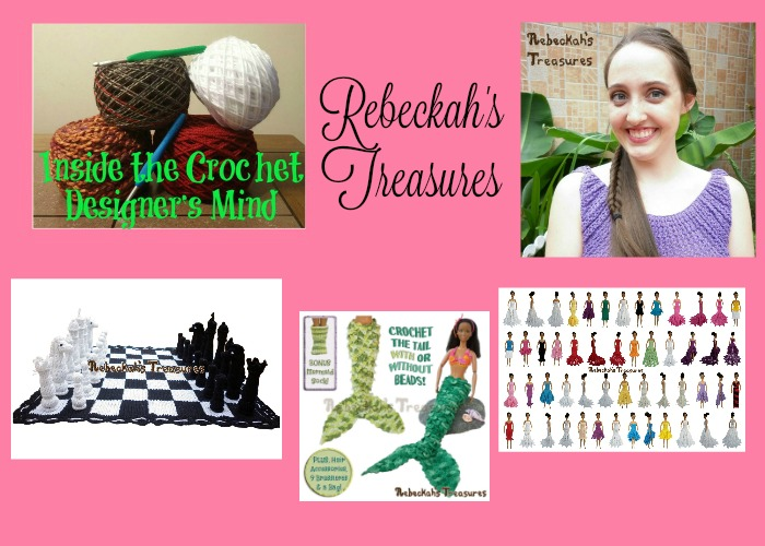 Inside the Crochet Designer's Mind Rebeckah's Treasures