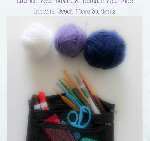 Make Money Teaching Crochet Book Review