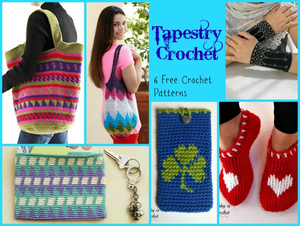 Tapestry Crochet Pattern Compilation
