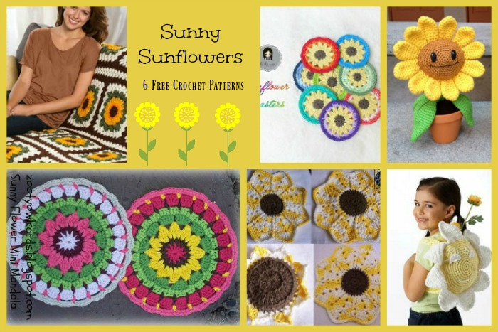 Sunny Sunflower Pattern Compilation