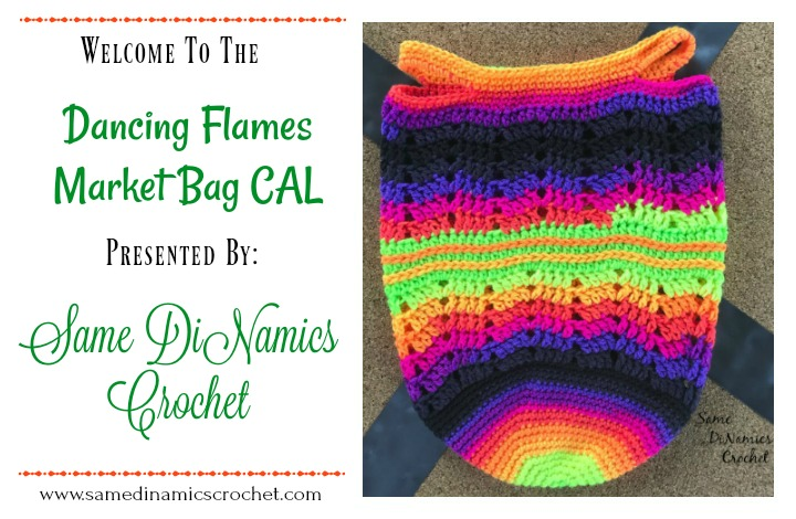 Dancing Flames Market Bag CAL Part Four – The End