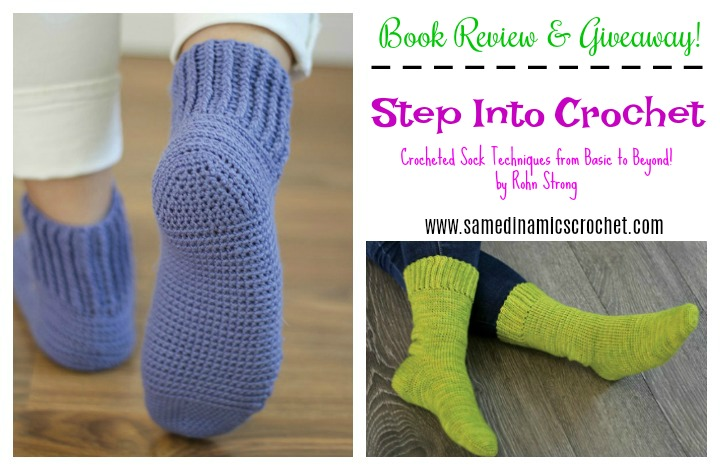 Step Into Crochet Book Review & Giveaway