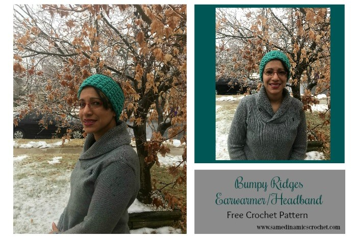 Make the Bumpy Ridges Earwarmer/Headband in several colors to match your outfits when needed.