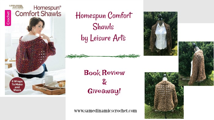 Homespun Comfort Shawls Book Review & Giveaway